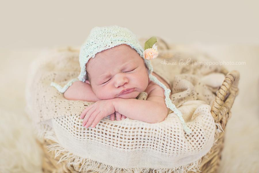 Newborn Baby Girl | Aimee Pool Photography