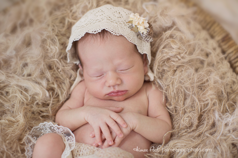 Newborn Baby Girl | Aimee Pool Photography