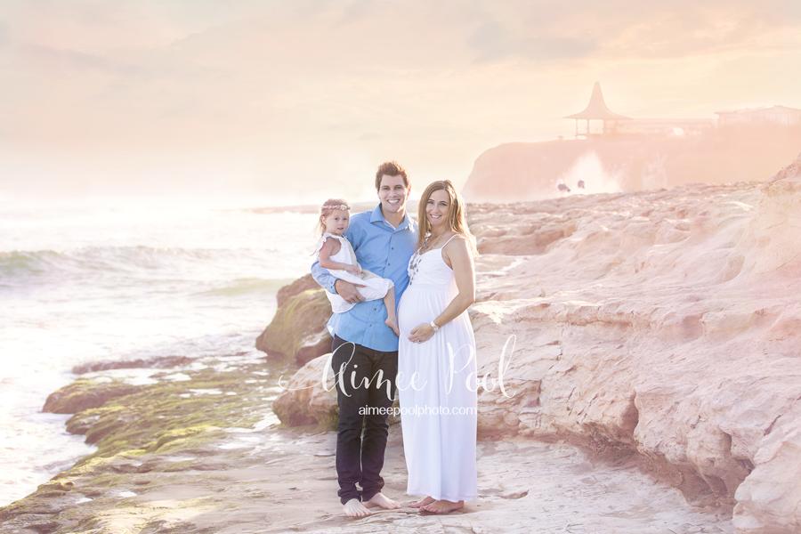 Beach Maternity Session