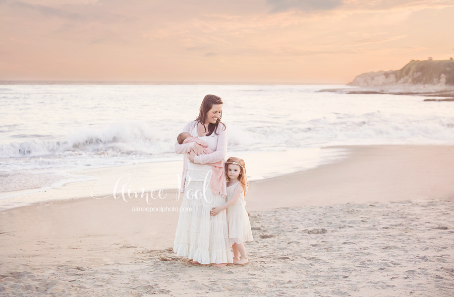Newborn Sunset Session