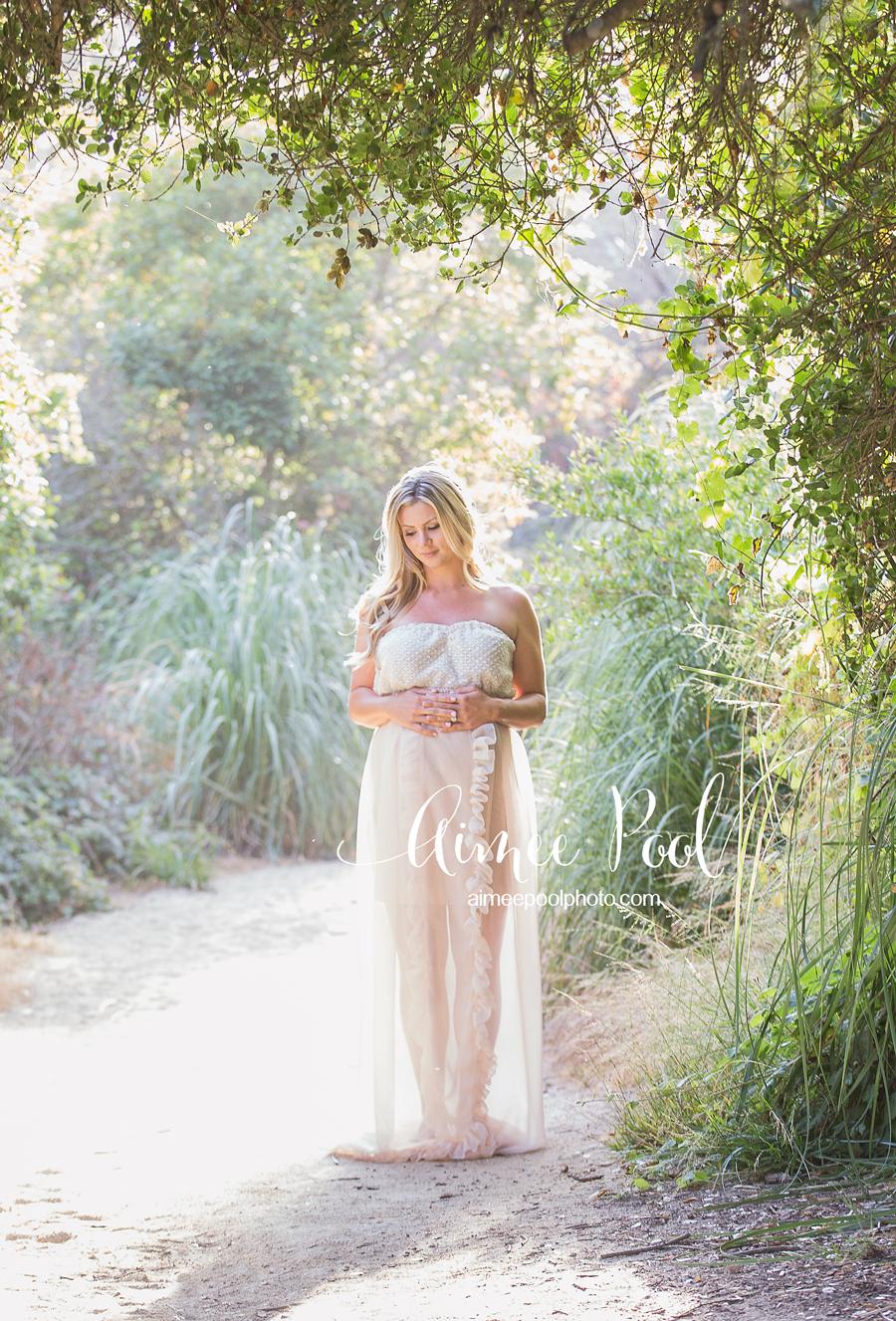 Santa Cruz Pregnancy Photographer - Maternity Beach Session