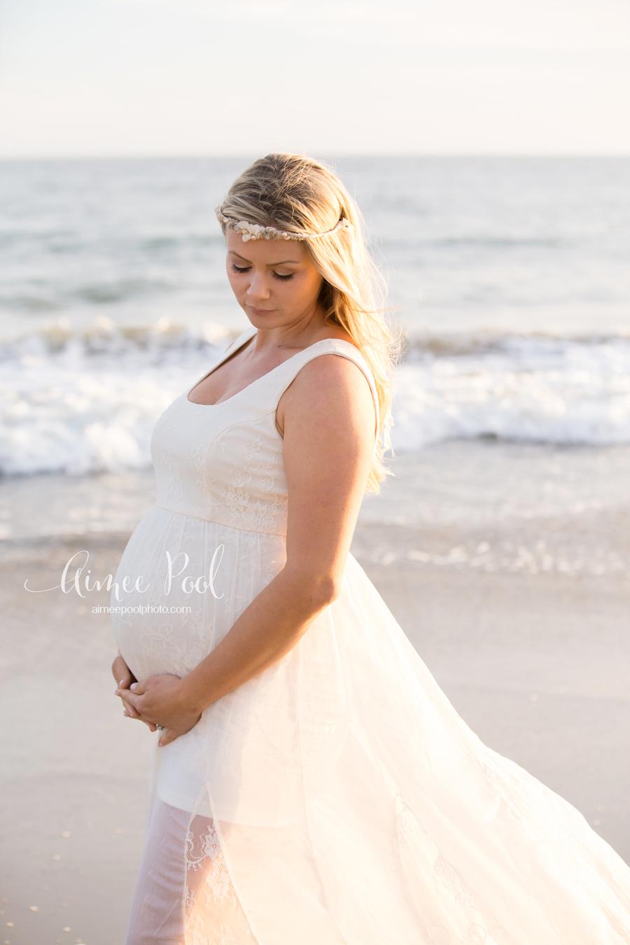 Monterey Pregnancy Photographer - Maternity Beach Session