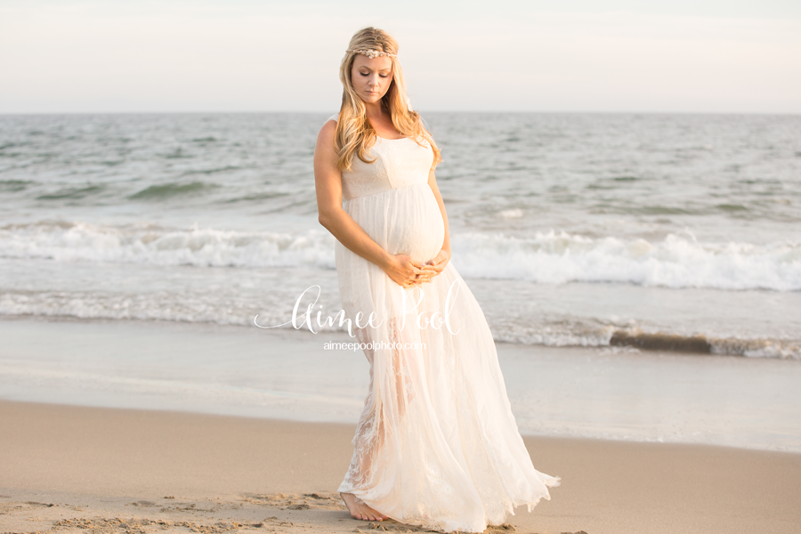 Los Gatos Pregnancy Photographer - Maternity Beach Session