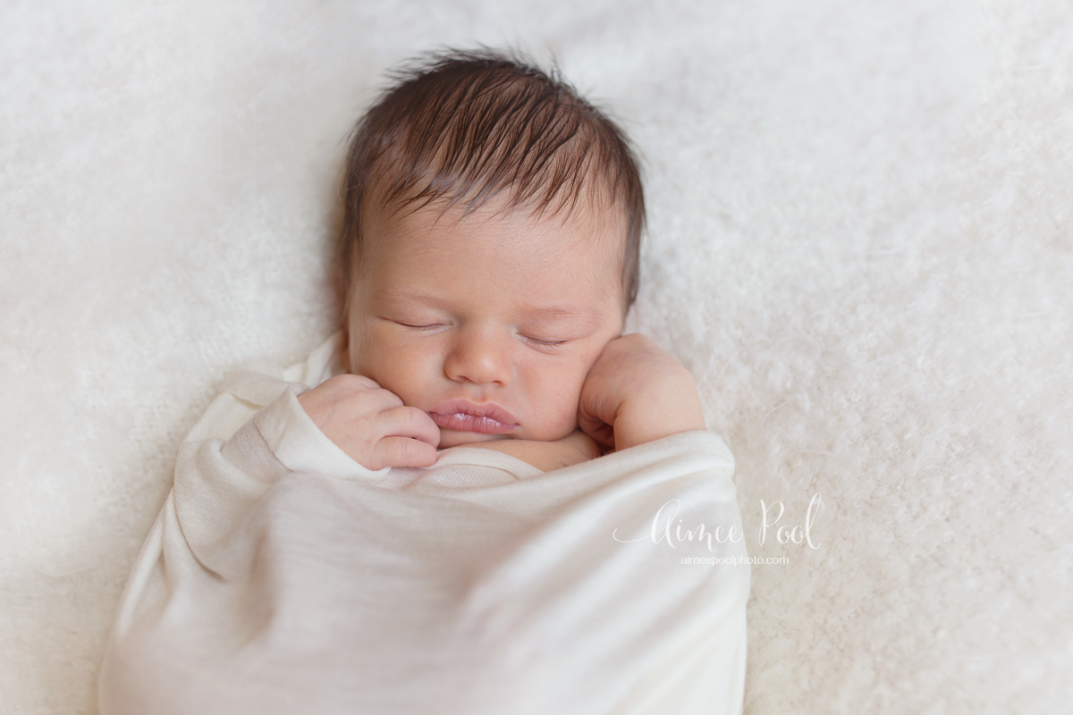 Organic Natural Newborn Session