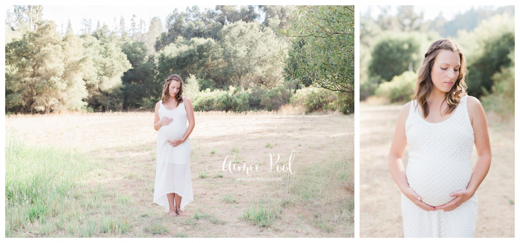 Bay Area Maternity Photographer | Field Session | www.aimeepoolphoto.com